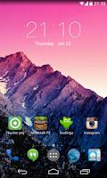 Screenshot of Mini Launcher(Kitkat UI)
