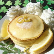 Romantic Lemon Cheesecake Pancakes