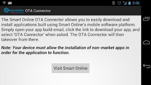 Smart Online OTA Connector