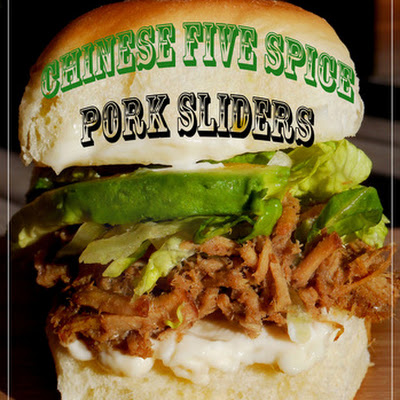 Chinese Five Spice Pork Sliders