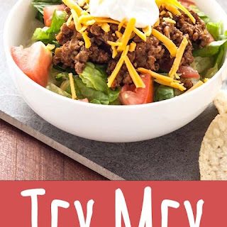 Tex Mex Turkey Taco Salad