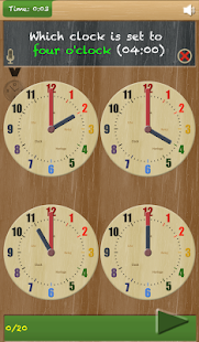 Set The Clock - Telling time - screenshot