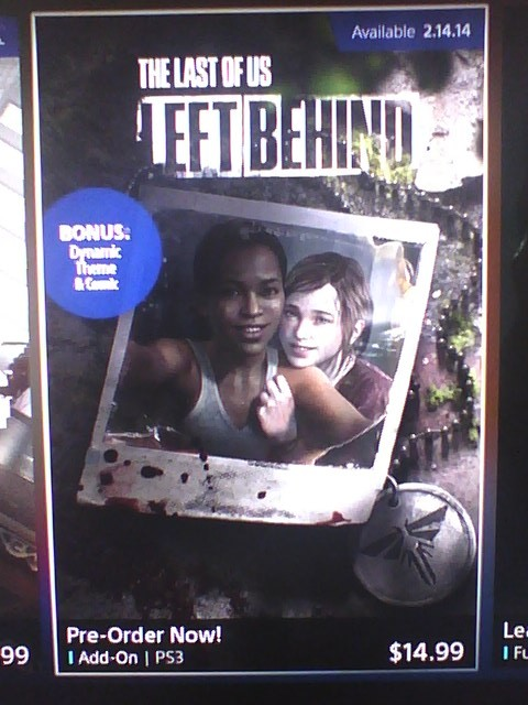 The Last Of Us Left Behind DLC release date leaked