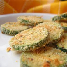 Baked Courgette Chips