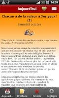 Screenshot of Sa Parole Pour Aujourd'hui