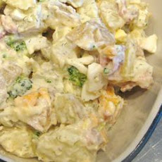 Chunky and Creamy Potato Salad