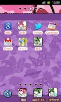 Screenshot of SANRIO CHARACTERS Theme25