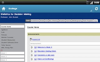 Screenshot of Devry University
