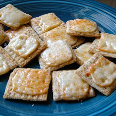 Parmesan Triscuit Snacks