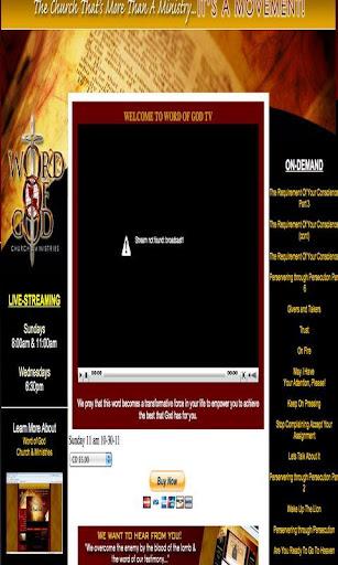 WOGTV - Word of God Ministries