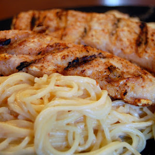 Sweet Chili Linguine with Grilled Chicken
