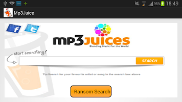 Screenshot of Mp3Juices AndroidApp
