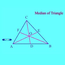 Live Geometry Triangle Medians