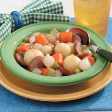 Kielbasa with Veggies