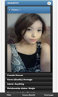 Screenshot of Korean girls