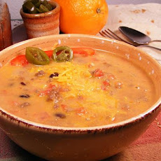 Mexican Cheeseburger Soup