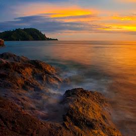 Carocok Beach by Pungki Wibowo - Landscapes Beaches