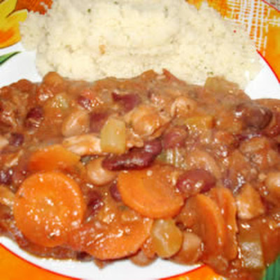 1-Pot, 3-Bean Chicken Stew