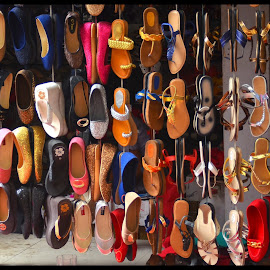 Shoes display by Prasanta Das - Artistic Objects Clothing & Accessories ( shoes, display )