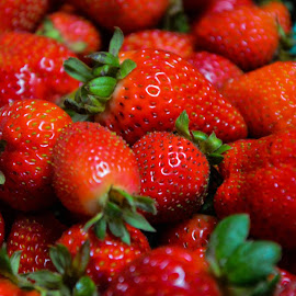 Fresh strawberries by Nicky Semenza - Food & Drink Fruits & Vegetables
