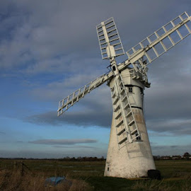 Windmill by Janet Morgan - Buildings & Architecture Other Exteriors