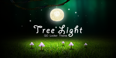 Screenshot of Tree Light GO Locker Theme
