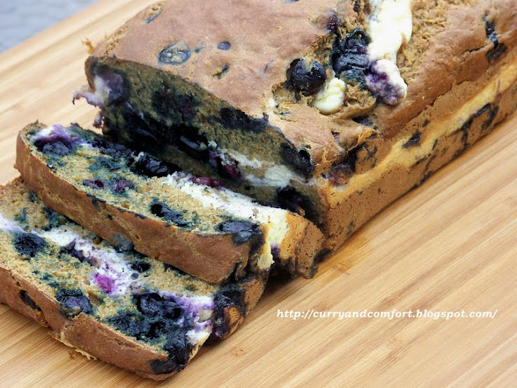 Banana-Blueberry Bread with Surprise