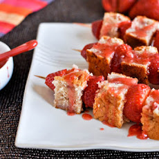 Strawberries and Cream Loaf Cake