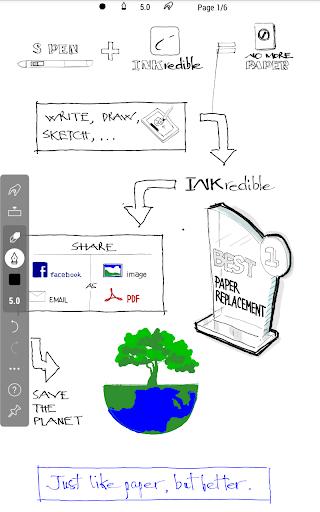 INKredible - Handwriting Note - screenshot
