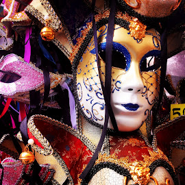 Mask by Laura Benbow - Artistic Objects Clothing & Accessories ( carnival, venice, mask, travel, italy )