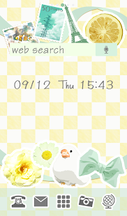 Cute wallpaper★Lemon de Paris - screenshot