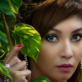 Deeper Gaze by Chandra Irahadi - People Portraits of Women (  )