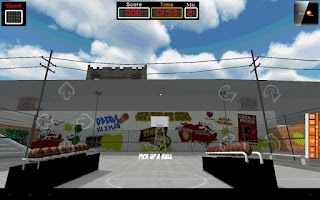 Screenshot of BasketBall