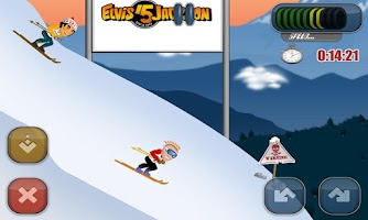 Screenshot of Filip Flisar Ski Cross HD