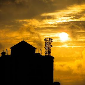 silhouette  by Kapil Shendge - City,  Street & Park  Skylines ( mumbai, silhouette,  )