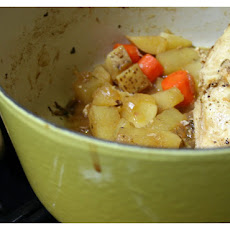 Cider Braised Chicken