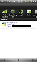 Screenshot of Wifi SignalBar