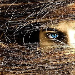 look at me ... by Boricic Goran - People Fine Art