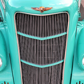 by Brittany Ritchea - Transportation Automobiles ( #restored, #vintagecars, #westvirginia, #carshow, #color )