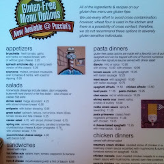 front page of the menu, back of menu has pizza options.
