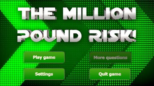 The Million Pound Risk - Quiz