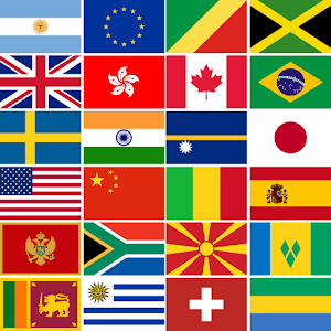 FillFlags: Fill Country Flags