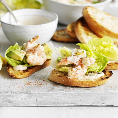 Prawn Cocktail Crostini