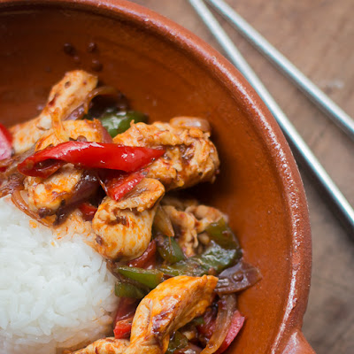 Thai Stir-Fried Chicken with Chile Jam