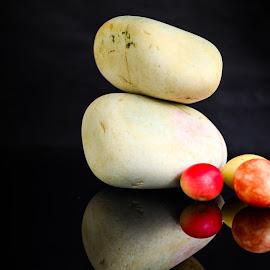 Shapes by Prasanta Das - Nature Up Close Rock & Stone ( harmony, stones, rocks, shapes )