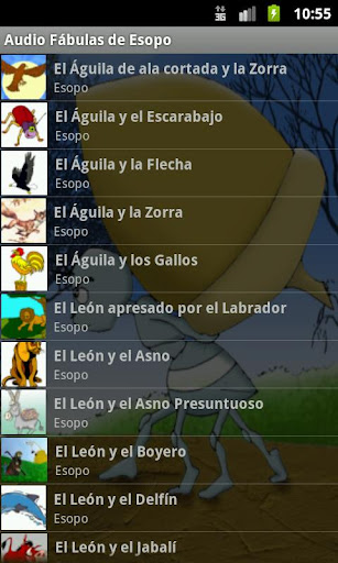 AudioEbook Fábulas de Esopo