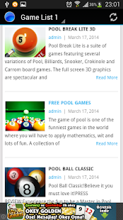 Pool Games - screenshot