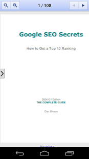 Google SEO SECRETS - screenshot