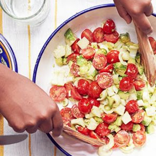 This Chopped Avocado Salad's Secret Ingredient Is Major