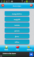 Screenshot of All Andhra Telugu News